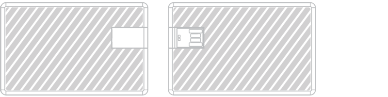 USB-Kort Lasergravyr