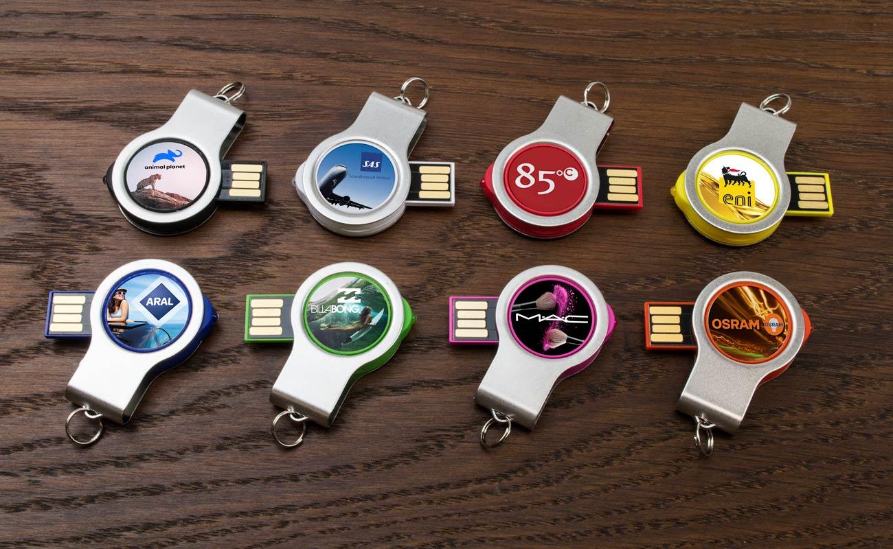 Light - USB Minne Med Tryck