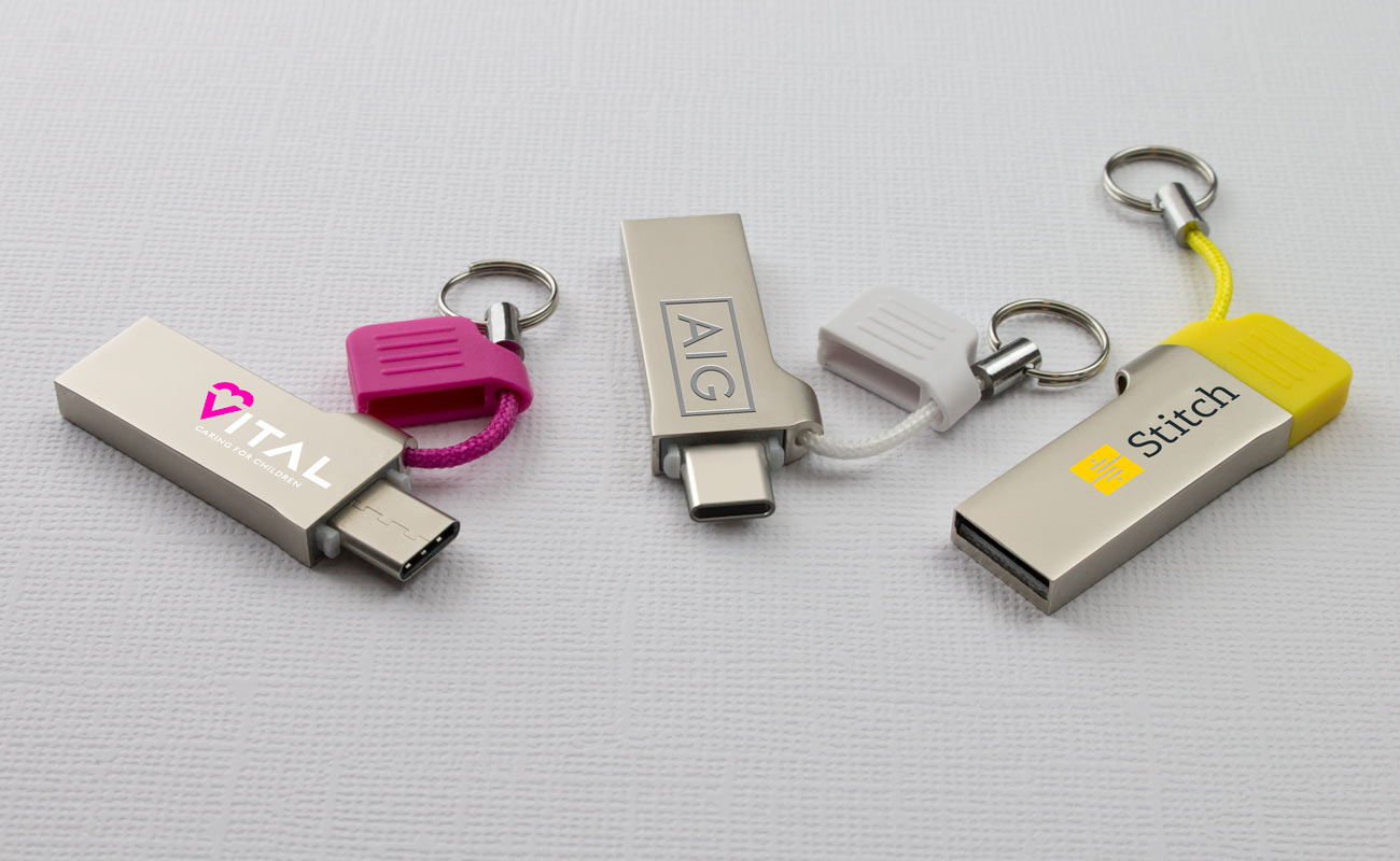 Lynx - USB Minne Med Tryck