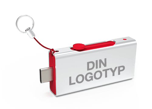 Slide - USB Minne Med Tryck
