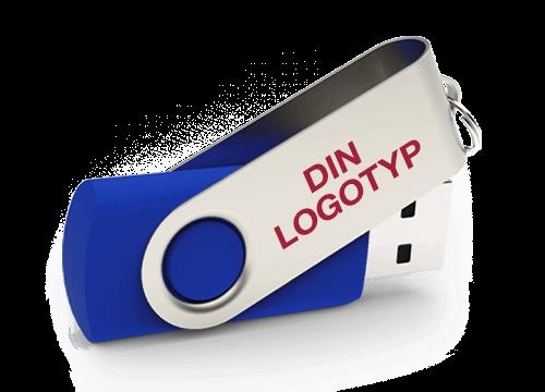 Twister - USB Minnen Med Tryck