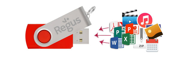 Flash Drive Förinstallation av data