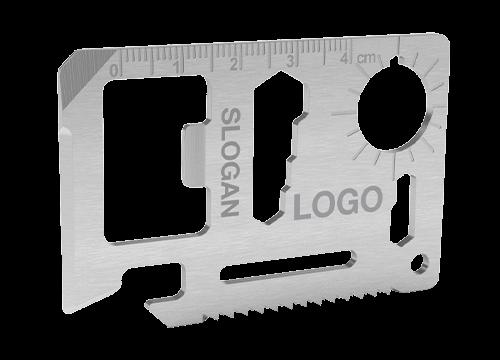 Kit - Kreditkort Multiverktyg med Tryck