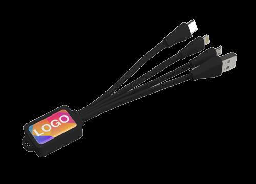 Multi - USB-kabel set med tryck