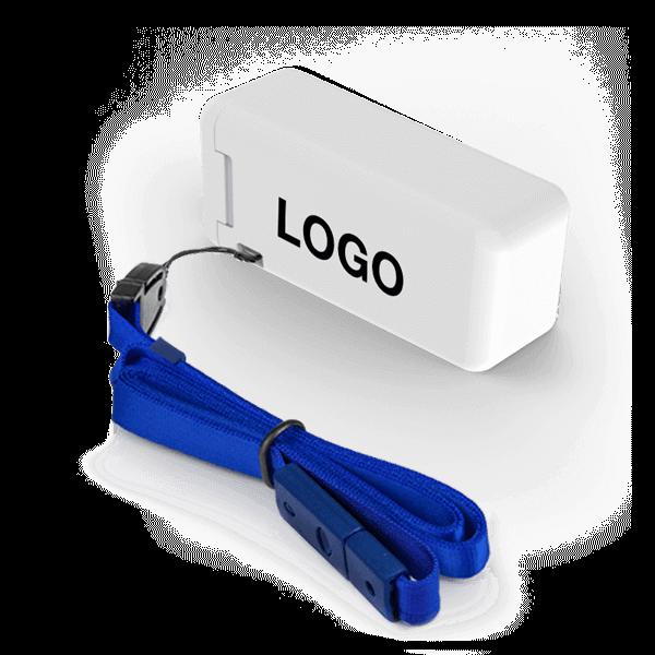 Fold - Vikbart Sugrör med Logotyp