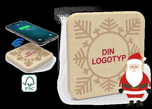 Forest Christmas - Trådlös Laddare Grossisthandel