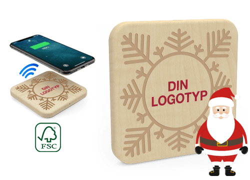 Forest Christmas - PR Trådlös Laddning Pad