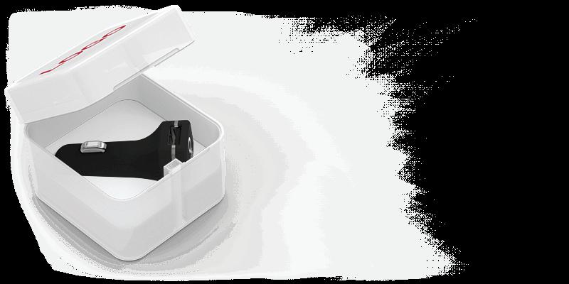 Master - Logotryckta USB billaddare