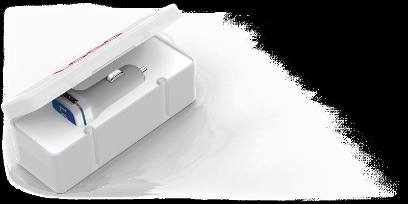 Vista - Logotryckta billaddare
