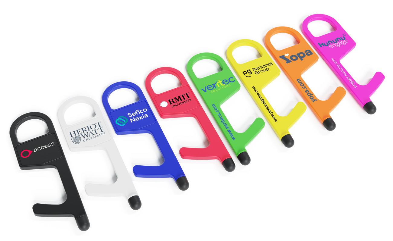 Buddy - Hygiennyckel med tryck