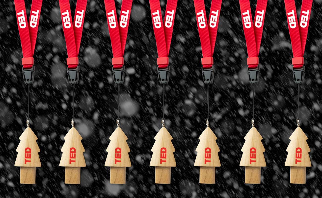 Christmas - USB Minne Med Tryck