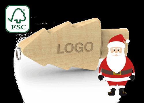 Christmas - USB Minne Reklam