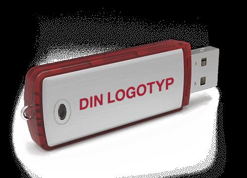 Classic - Billiga USB Minnen Med Tryck