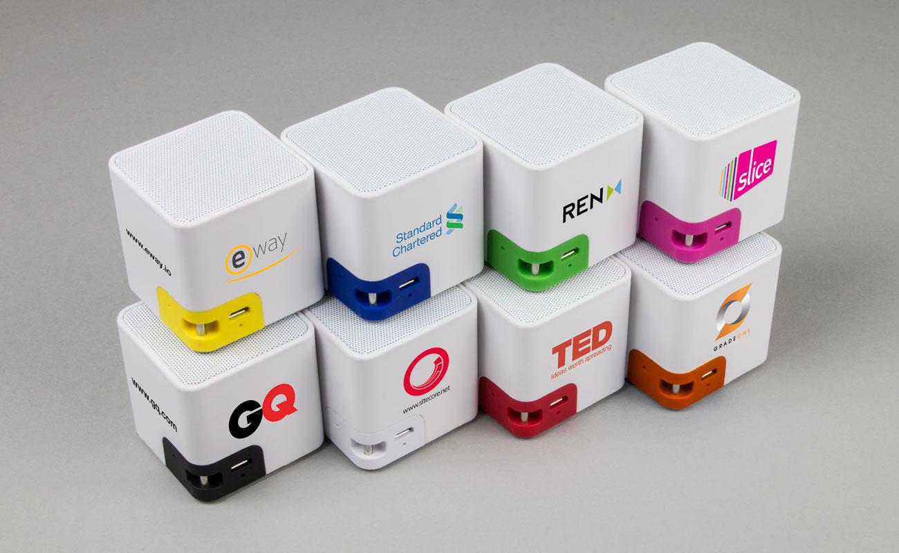 Cube - Högtalare Med Tryck