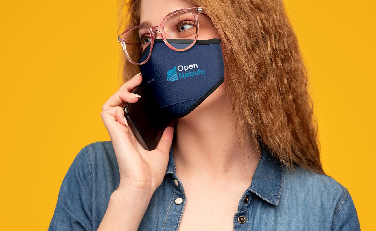 Denim - Anpassade Ansiktsmasker