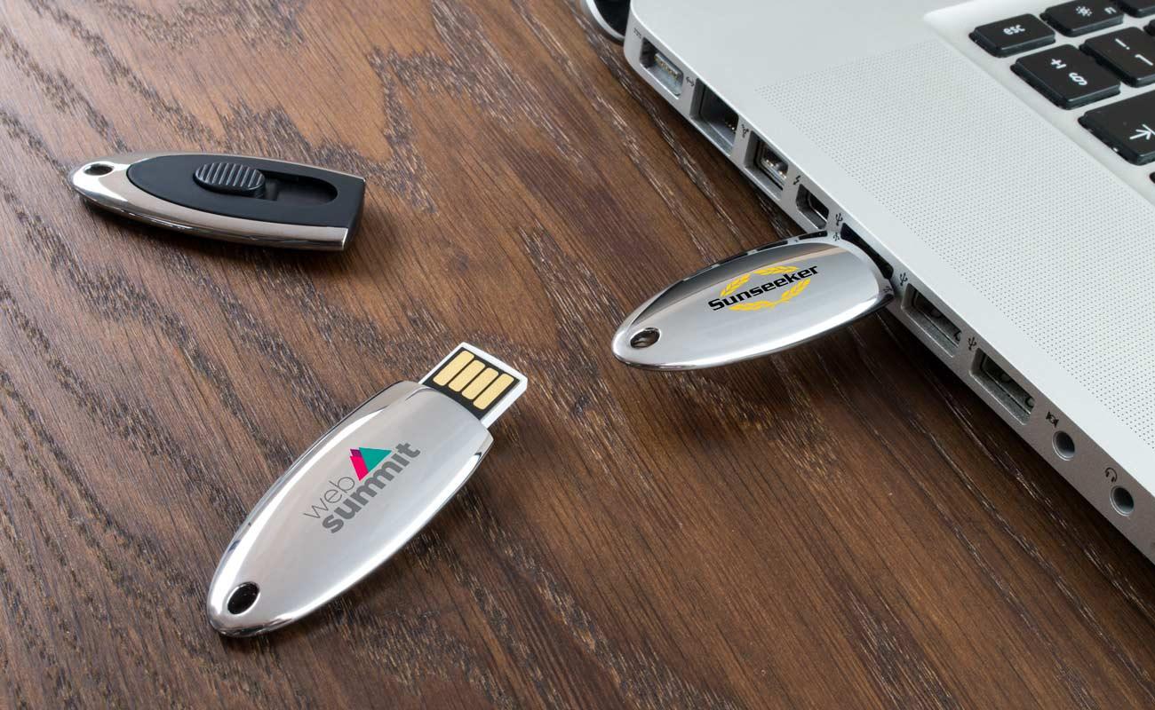 Ellipse - USB Minne Med Tryck