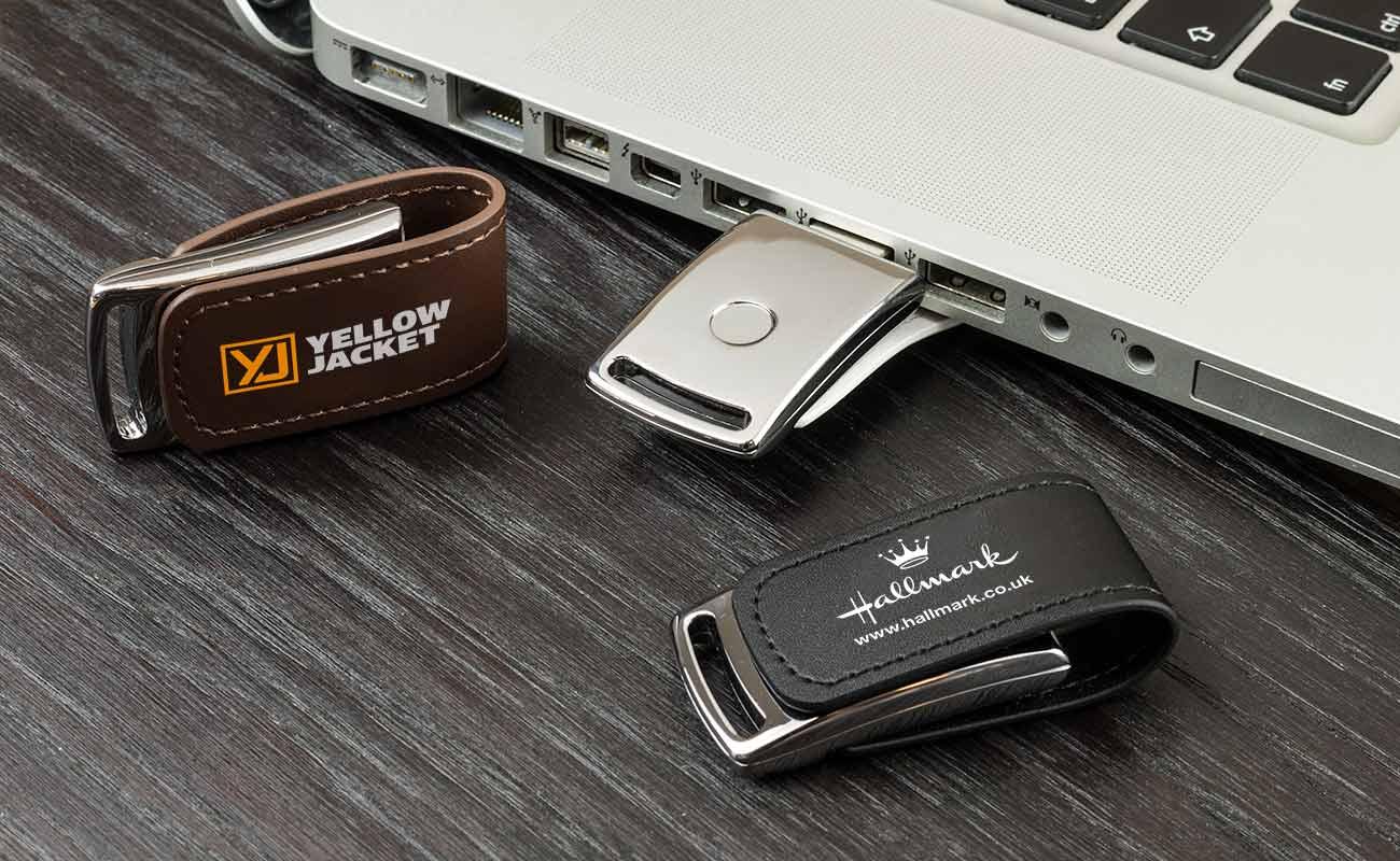 Executive - USB Läder
