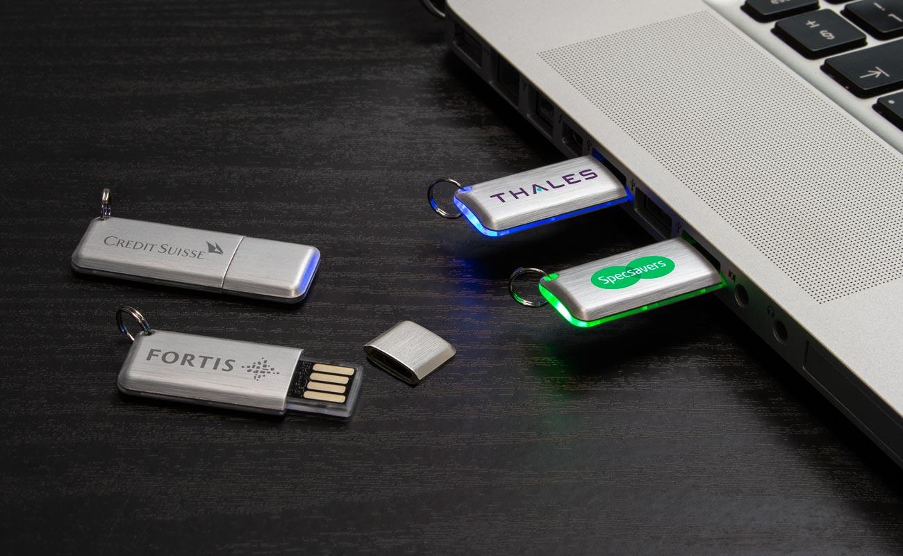Halo - USB Minne Med Tryck