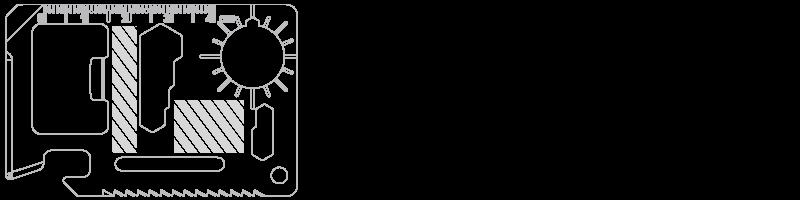 Multiverktyg Screentryck