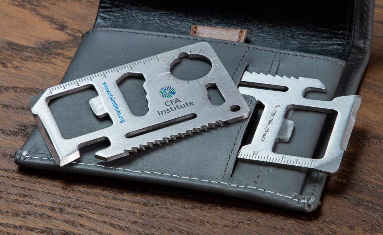 Kit - Kreditkort Verktyg