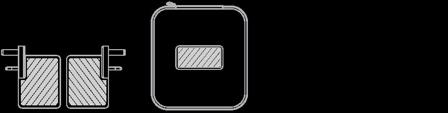 USB reseladdare Screentryck