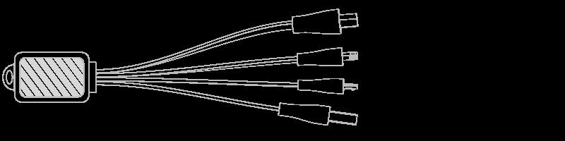 USB-kabel Fototryck