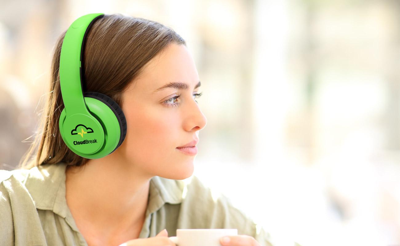 Mambo - Hörlurar Med Tryck