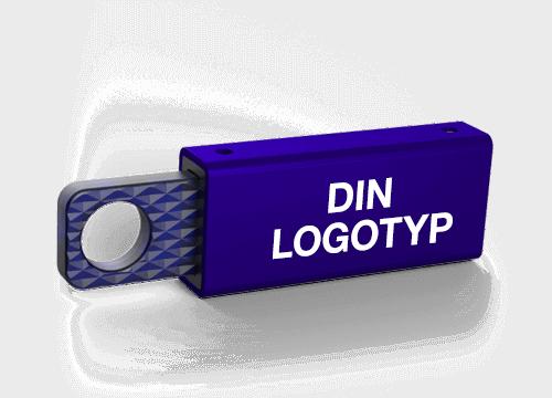 Memo - USB Minnen Med Eget Tryck