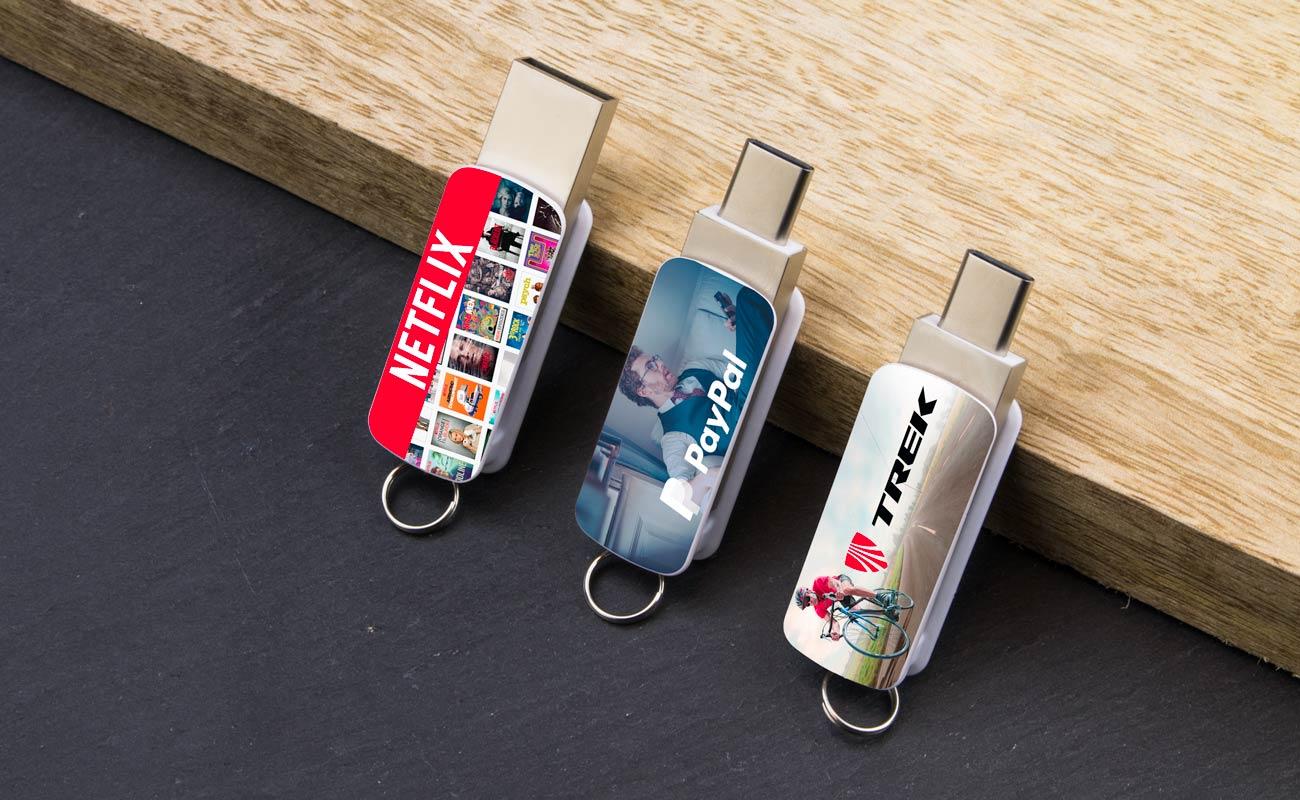 Orbit - USB Minne Med Tryck