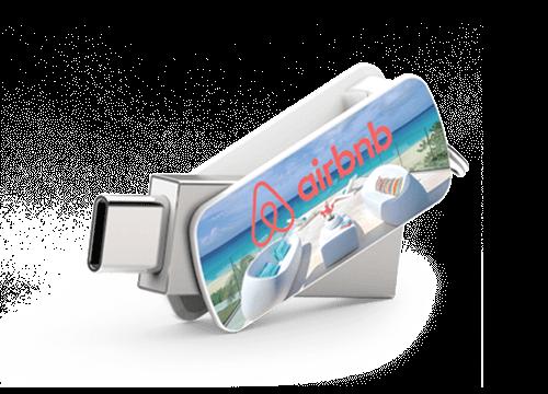 Orbit - USB Minnen Med Tryck