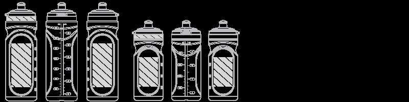 Vattenflaska Screentryck