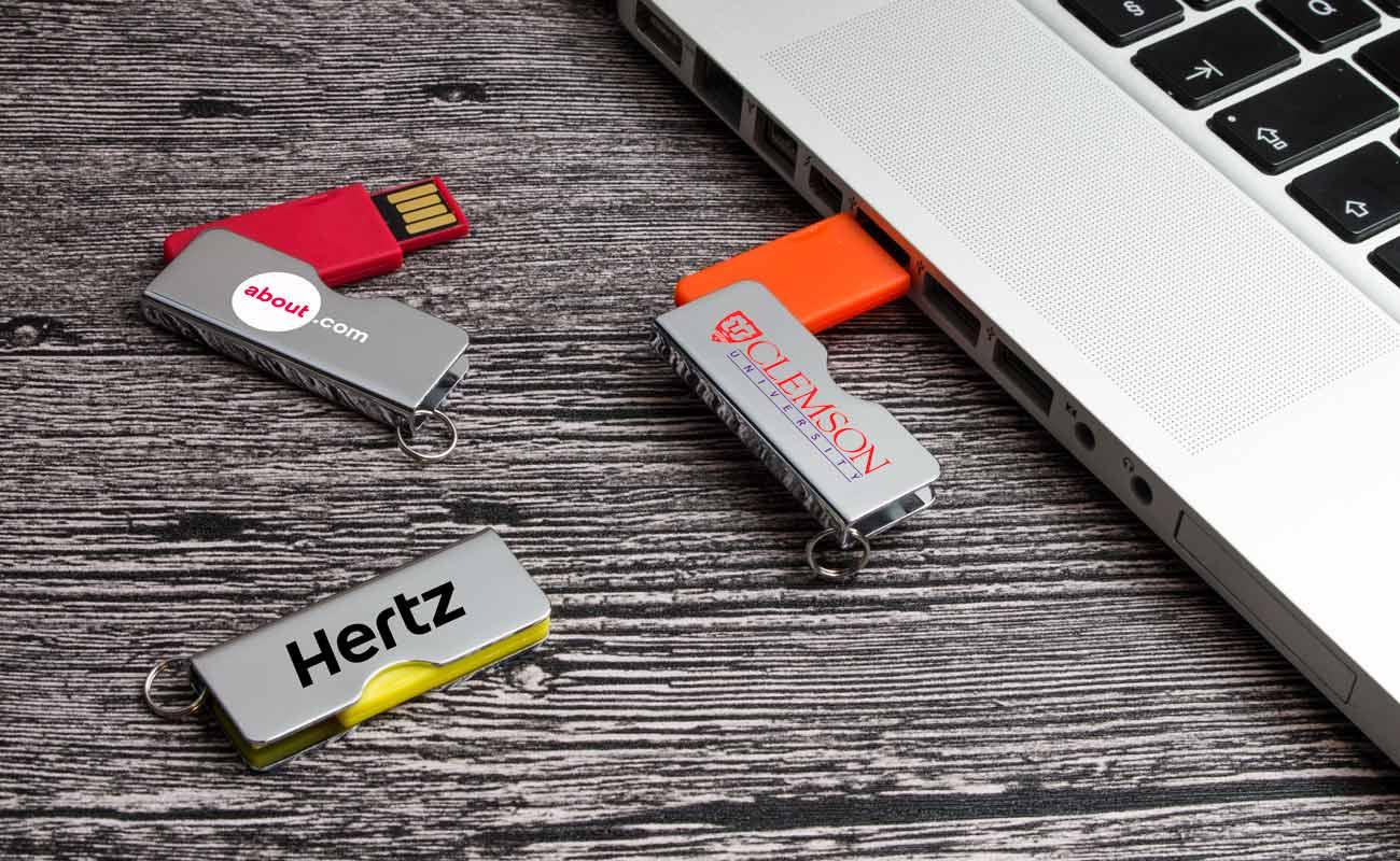 Rotator - USB Minne Med Tryck