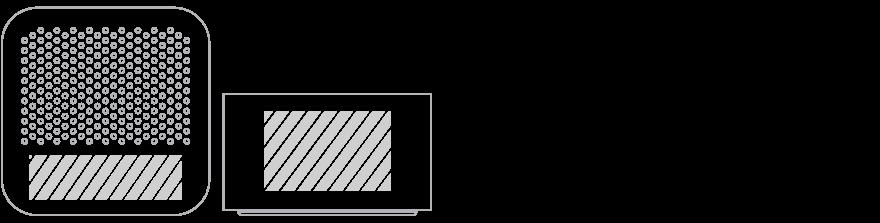 Bluetooth®-högtalare Screentryck