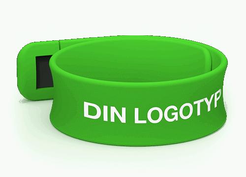 Slap - Skräddarsydd USB-armband