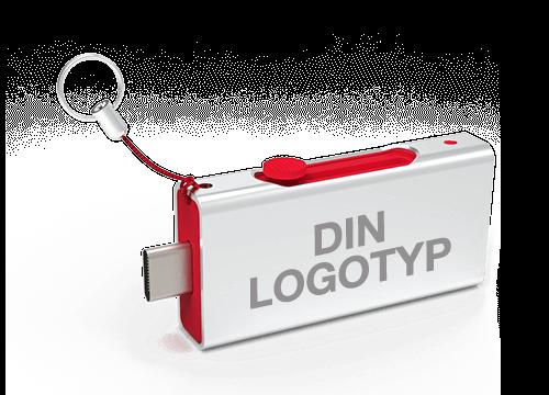 Slide - USB Minne Reklam