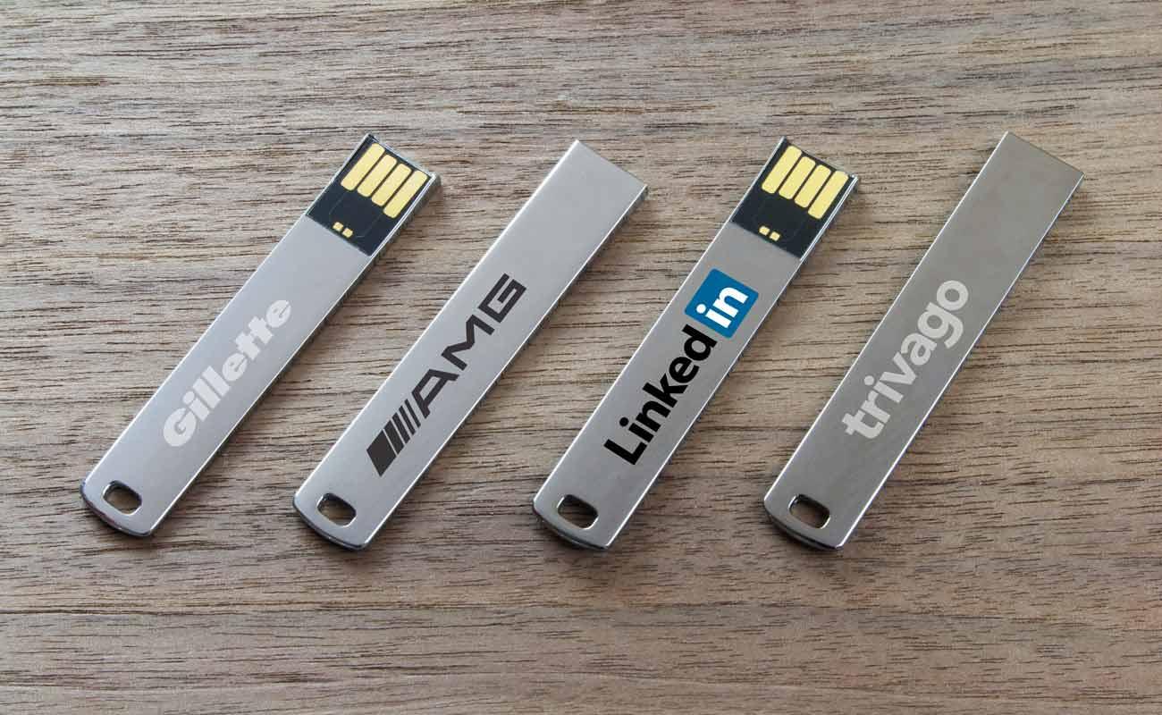WalletStick - Tunna USB med tryck